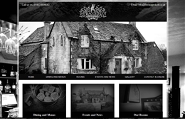 The Ragged Cot- bed and breakfast website design by Toolkit Websites, professional web designers
