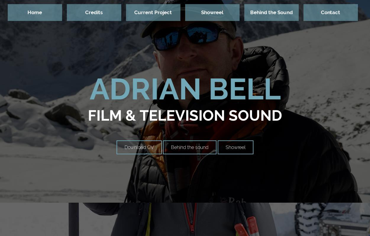 Welcome to Adrian Bell Sound : Adrian Bell Sound
