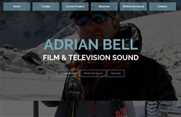Adrian Bell Sound Ltd - Web design by Toolkit Websites, professional web designers