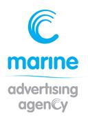 marine advertising logo