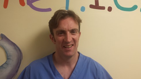 Dr. Iain Macintosh Chairman & Trustee of Friends of PICU