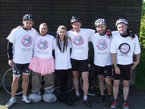 Cycle Challenge Across the South for Friends of PICU
