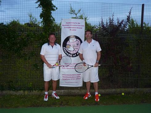 15 Hour Tennis Challenge for Friends of PICU