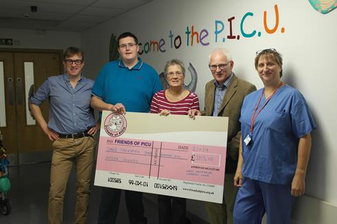 PICU Registered Charity funding