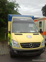 New ambulance for Friends of PICU