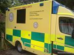 Friends of PICU ambulance