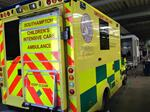 Friends of PICU ambulance at Southampton