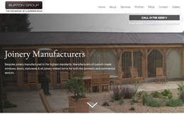 Burton Group - Construction Web Design by Toolkit Websites