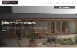 Burton Group - Construction Web Design by Toolkit Websites
