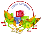 Little Crickets Nursery Logo