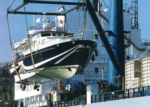 Ce certification we ship boats for Outboard motor lifting strap