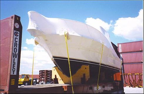 Accessorial Services Shrink Wrap / Boat shrink wrap