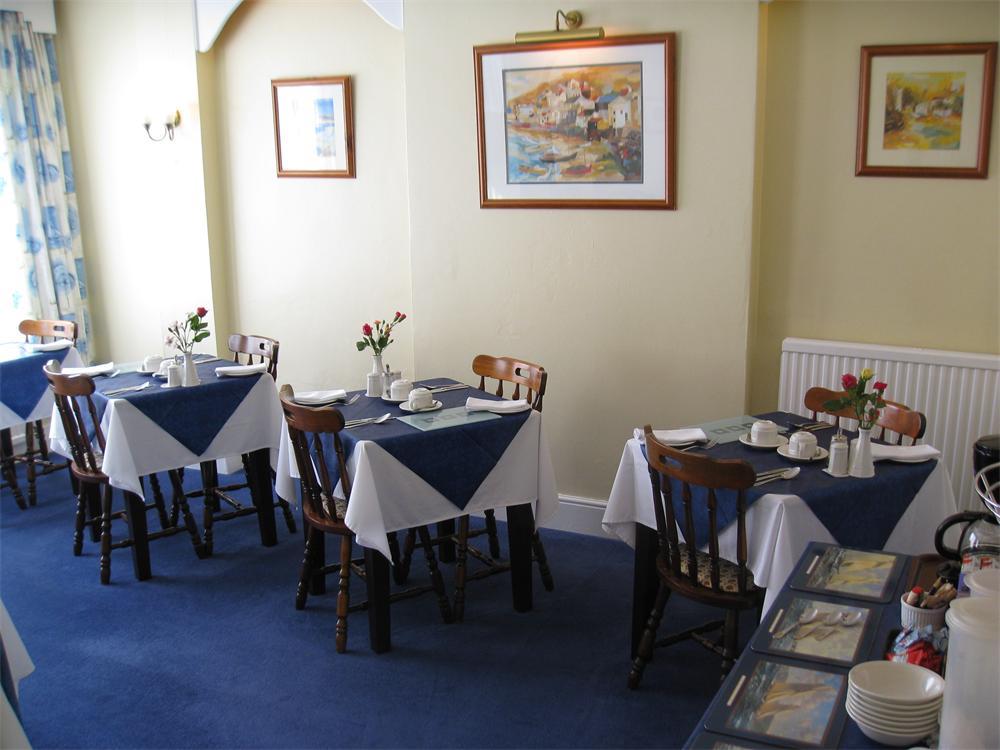 The breakfast room at The Norfolk guest house, Felixstowe