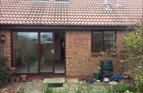 BEFORE - Patio doors