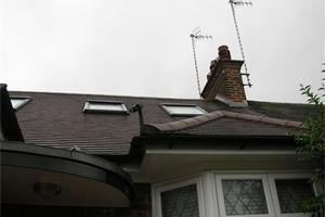 Clay Tile and UPVC Facia ,Soffit and Guttering