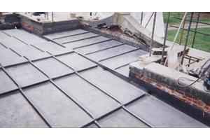 A Flat Lead Roof with design to last