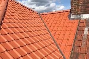 New Roof Dry Systems to adjoining property