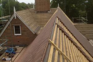 New Roof in progress