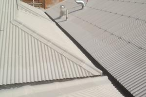 Kemper 2K and Coewell Fibre Gum solution giving another 20 years to this Industrial roof