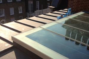 Lead & Glass skylight