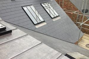 New Lead & Synthetic Slate Detail