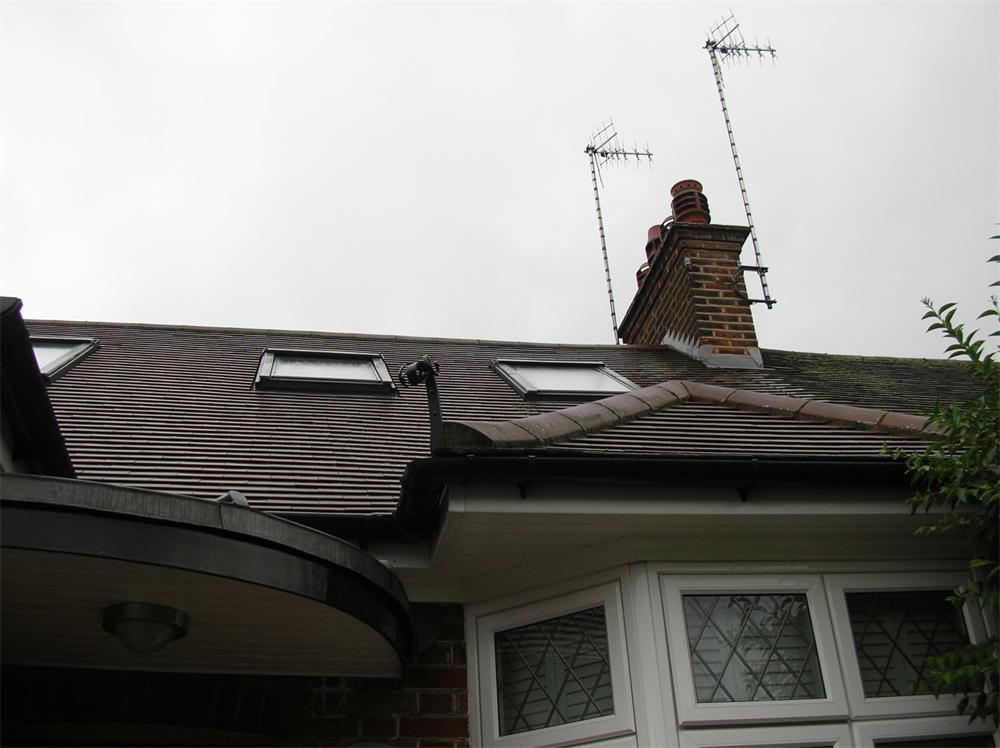 Clay Tile And Upvc Facia Soffit And Guttering