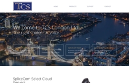 TCS London Ltd - IT website design by Toolkit Websites, Southampton