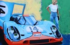 Porsche 917 Image size 56cm x 48cm. Limited to just 100 copies signed and numbered. £95.00 + £6.00 post and packing.  <iframe frameborder='no' scrolling='no' src='https://www.brianjames.biz/pp/1865'  width='160px'  height='40px' ></iframe>
