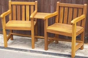 Double Garden Seat