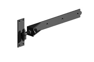 Black Adjustable Hook and Band
