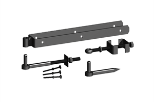 Black Adjustable Hinge Set