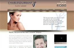 Charles Durrant website design case study