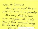 Charles Durrant Testimonial
