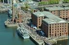 Crowds of people enjoy the Merseyside sunshine at the Battle of the Atlantic 70th anniversary event in Liverpool Picture by Leading Airman Photographer Nicky Wilson Crown copyright