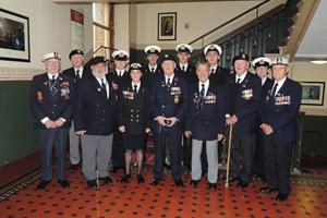 Veterans and cadets at the 2013 RBL Festival of Remembrance