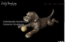 Sally Dunham - Artist website design by Toolkit Websites, expert web designers