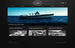 Tendacentre - Marine website design by Toolkit Websites, Southampton
