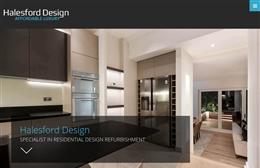 Halesford Design - Home Refurbishment Web Design by Toolkit Websites