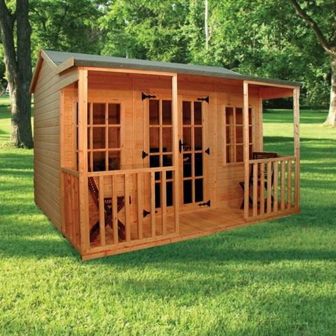 Garages workshops and summer houses elford sheds for 14x8 garage door