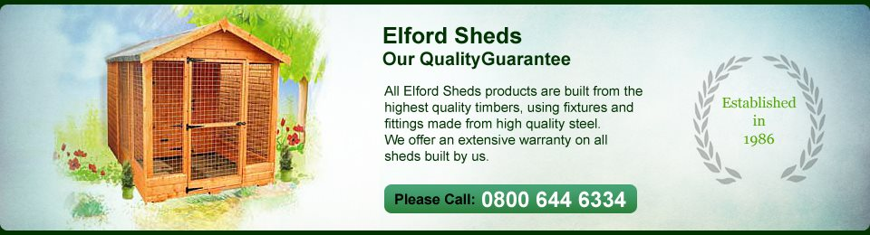 Welcome To Elford Sheds Elford Sheds