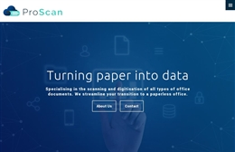 Proscan, Southampton website design case study
