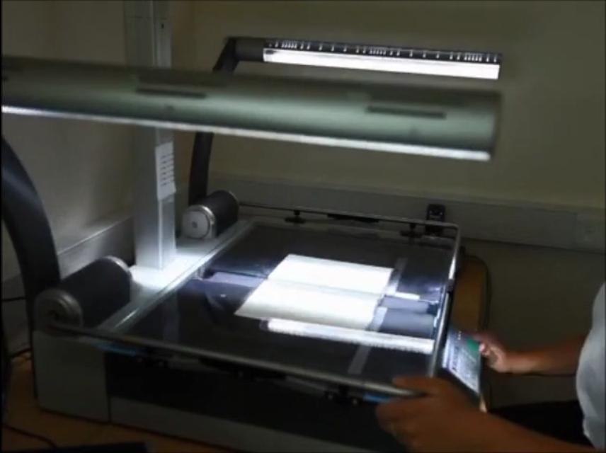 book scanning