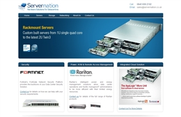 Servernation - IT website design by Toolkit Websites, Southampton