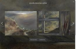 Nicola Moeran Art - Artist website design by Toolkit Websites, expert web designers
