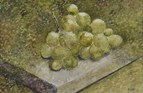Grapes, Greece. Watercolour. 4in x 6in. SOLD.