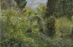Catherine's Garden. Oil. 16 x 20in.