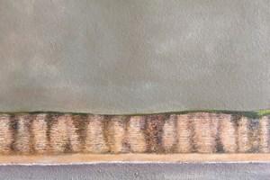 Cliffs at Burton Bradstock. Oil on canvas, 12in x 16in