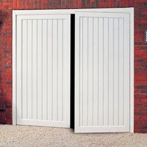 Abs Plastic Side Hinged Doors The Garage Door Company