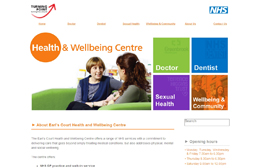 Earls Court HWC - Medical practice web design by Toolkit Websites, Southampton