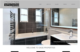Gage Properties - Property website design by Toolkit Websites, Southampton
